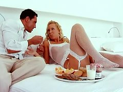 Breakfast In Bed For Angelina Love Turns Into Anal Toying and Sex