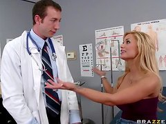 Doctor Gives an Intense Asshole Treatment to Blonde Shyla Stylez