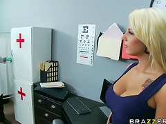 Busty Tattooed Blonde Lylith Lavey Gets Fucked By The Doctor