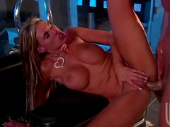 Cheering Up With Charisma Cappelli's Big Tits and Sweet Shaved Pussy