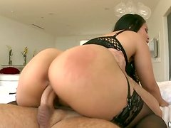 Awesome Action With Hot Asian On Stockings Jessica Bangkok