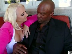 Mandy Sweet Wants a Black Cock Banging Her MILF Pussy