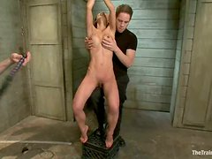 Amazing Asian chick Tia Ling gets tortured and likes it much