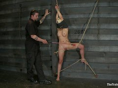 Bondage Torture With A Sexy Blonde Slave