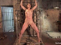 Bondage Fun With A Hot And Submissive Babe