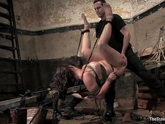 Sexy Slave's Force To Masturbate Without Cumming