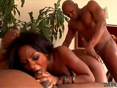 A Monster Cock Threesome For The Slutty Persia