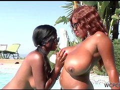 A Lesbian Scene Among Jessica Grabbit And Her Friend