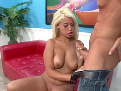 Rough Sex For A Sexy Blonde Bridgette B