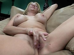 POV Interview With A Hot Blonde Milf