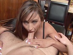 A Mouthful Of Cum For A Kinky Mom In POV