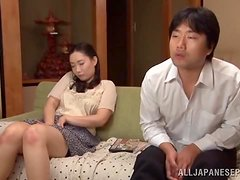 Big booty Nami Horikawa gets pounded and creampied