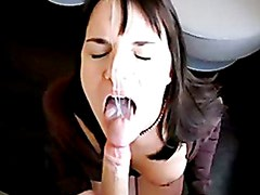 Big Titty German Girl Blowjob