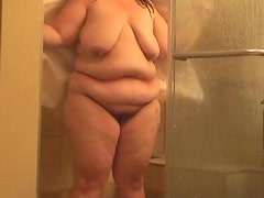 bbw dry after showering