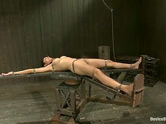 Beretta James gets toyed and covered with hot wax