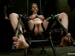 Iona Grace Gets Clothespin Torture and Toyed in Bondage Video
