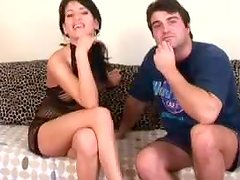Fists and Toys Go Inside an Attractive Brunette's Pussy