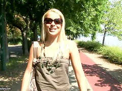 Hot Summer Interview with Beautiful Blonde Brandy Smile
