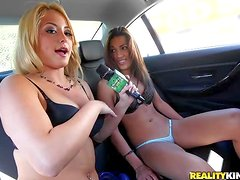 Blonde from Money Talks has something new to offer. Watch
