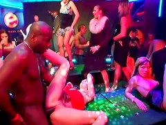 Crazy drunk bitches have an insane orgy party