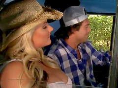 Cowgirl fucked in truck bed