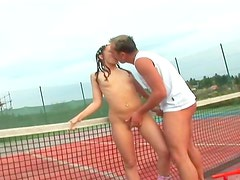 Ass sex with tennis girl