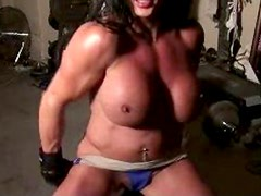 Lynn McCrossin Hot Sexy Seductive Muscle