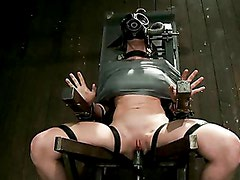 Bondage Babe Suffers for Your Pleasure