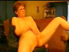 Very hot sexy nude granny rubbing her pussy. Amateur