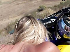 Motocross Slut Passing Out Pussy / Jezebel Jones