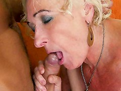 Granny gets fucked. Part 2