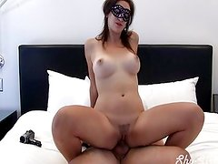 Big boobed college girl creampied