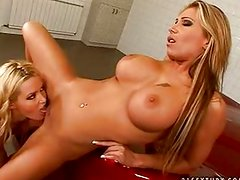 Candy strong and sophie moone