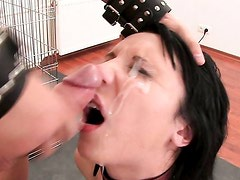 Eva was such a good girl until she was held captive in his cage! Part 5