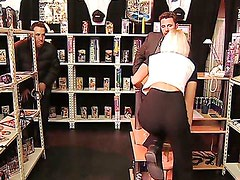 Anal Lesson at the Private Shop.