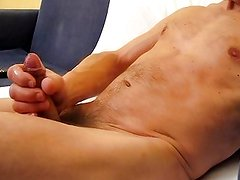 Wanking and a big load