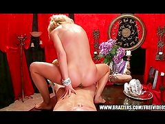 Nice butt blonde is fucked rough