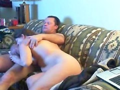 Hidden cam caught mom and dad home alones having fun