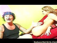 Young Golden-haired Chick Fucked Hard And Got
