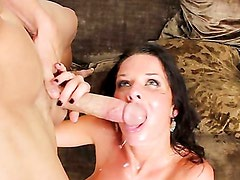 Veronica Avluv sucks and rides big dick! Part 3