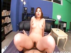 Ami Kurosawa teases a cock and the cameras in