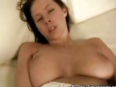 Gianna masturbating with dildo