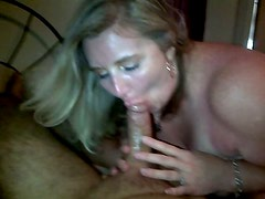 Toni loves to suck big cock