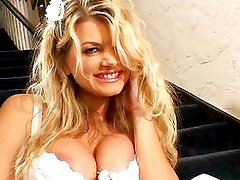 Vicky Vette analized before wedding