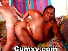 Huge Ebony Tit Fucked And Hardcore Sex
