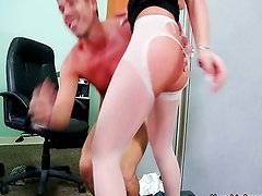 Giselle Leon gets fucked in the office