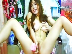 Asian girls fondling masturbation Squirt Show