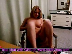 Nice blonde undressing - Hot divines