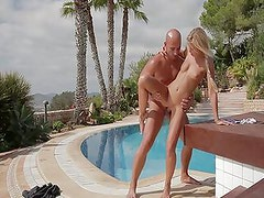 blondy babe's sensual sex