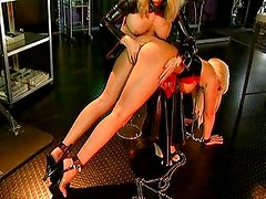 Blonde slave femdom fetish treatment